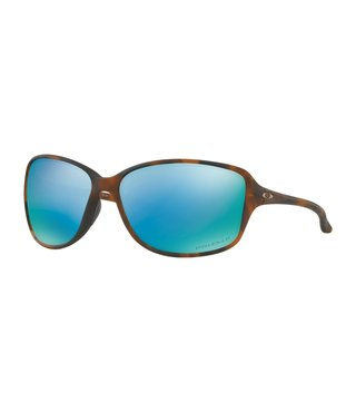 Cohort Matte Brown Tortoise Sunglasses w/ Prizm Deep Water Polarized Lens