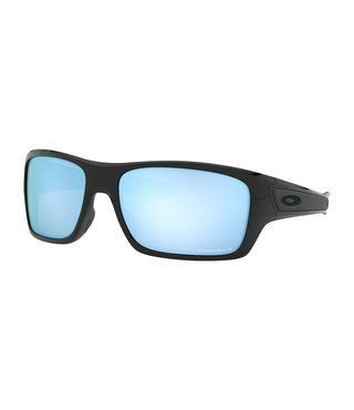 Turbine™ Polished Black Sunglasses w/ Prizm Deep Water Polarized Lens