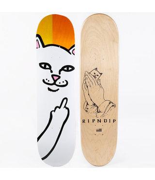 """8.5"""" Ripndip Lord Nermal Split Veneer Skateboard Deck"""