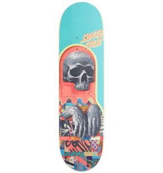 "Santa Cruz Skateboards 8.5"" x 32.2"" Cruz Primal Chant Everslick Skateboard Deck"