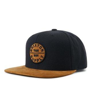 Oath III Snapback Hat - Copper/Black