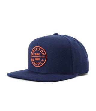 Oath III Snapback Hat - Patriot Blue