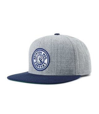 Rival Snapback Hat - Heather Grey/Navy