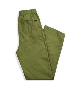 Steady Elastic Waistband Pant - Leaf