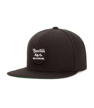 Wheeler Snapback Hat - Black