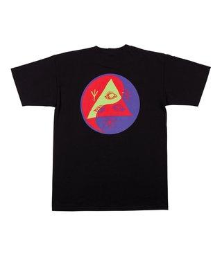 Balance Tee - Black/Purple/Red
