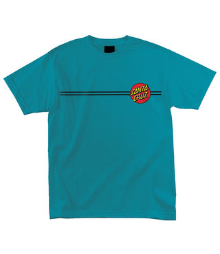 Classic Dot Short Sleeve Youth T-Shirt - Turquoise