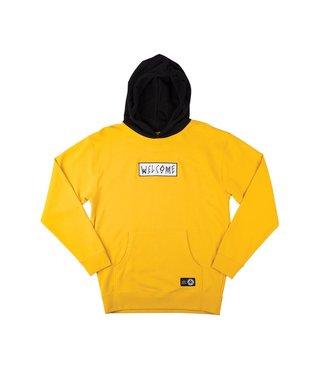 Veil Pullover Hoodie - Gold/Black