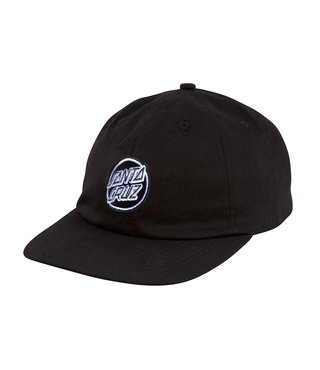 Opus Dot Strapback Unstructured Low Mens Hat - Black