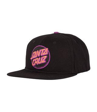 Other Dot Snapback Mid Profile Mens Hat - Black/Pink/Purple
