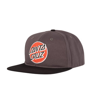Other Dot Snapback Mid Profile Mens Hat - Black/Red