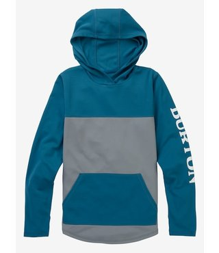 Kids' Burton Spurway Tech Pullover Hoodie - Wild Dove / Blue Sapphire
