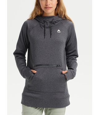 Women's Burton Oak Long Pullover Hoodie - Phantom Heather