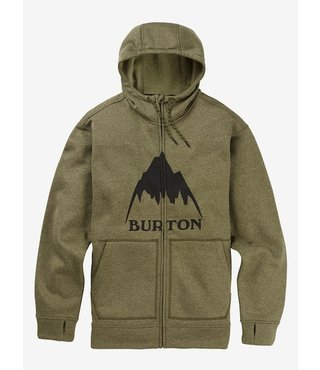 Men's Burton Oak Full-Zip Hoodie - Keef Heather