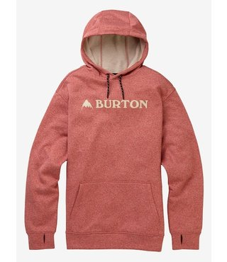 Men's Burton Oak Pullover Hoodie - Tandori Heather