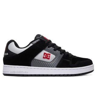 Manteca Men's Skate Shoes - Black/Grey/Red