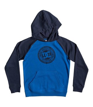 Boy's 8-16 Circle Star Hoodie - Black Iris/Nautical Blue