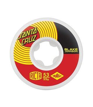 53mm Blake Johnson SC 99a Ricta Skateboard Wheels
