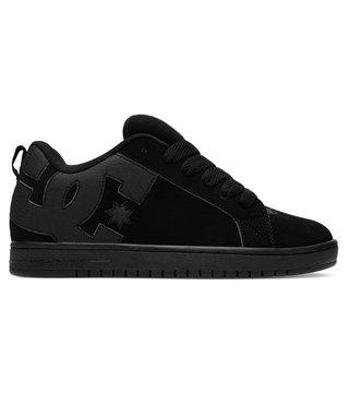 Court Graffik Men's Skate Shoes - Black/Black/Black