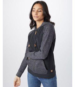Women's Whitmore Full Zip Hoodie - Meteorite Black/Meteorite Black Marled
