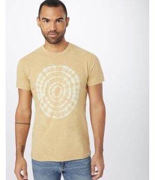 Men's Natures T-Shirt - Punica Brown Tree Ring