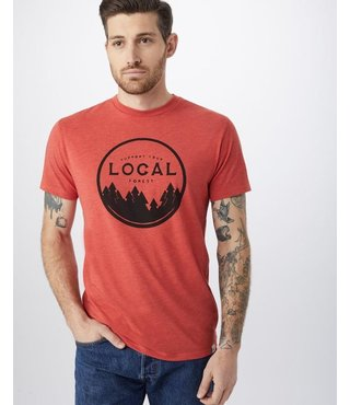 Men's Support Your Forest T-Shirt - Baked Apple Red