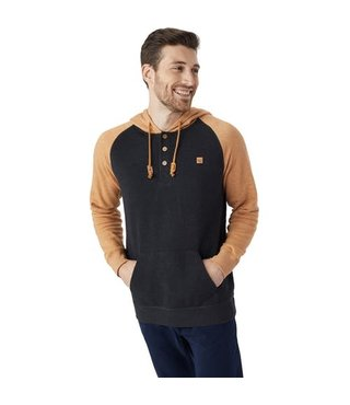 Men's Oberon Hoodie - Meteorite Black/Brown Sugar Marled