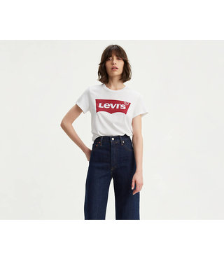 Levi's® Perfect Logo Tee Shirt - White