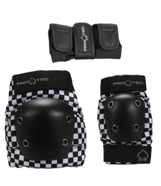 Pro-Tec Junior Street Gear 3 Pack - Checker