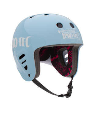 Pro-Tec Gonz 2 Full Cut Skateboard Helmet - Light Blue