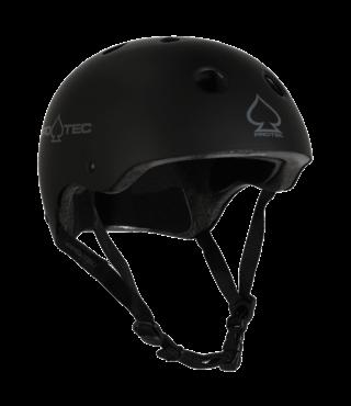 Pro-Tec Classic Certified Skateboard Helmet - Matte Black