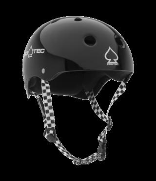 Pro-Tec Classic Skateboard Helmet - Black Checker