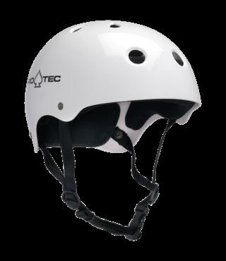 Pro-Tec Classic Skateboard Helmet - Gloss White