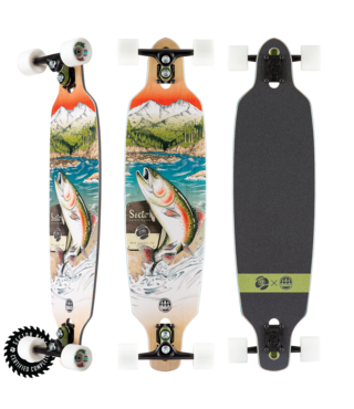 "36"" Sector 9 Tackle Fractal Longboard Complete"