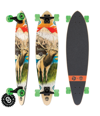 "34.5"" Sector 9 Stag Swift Longboard Complete"