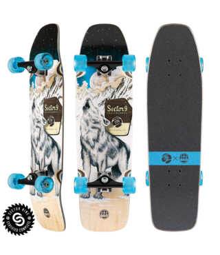 "30.5"" Sector 9 Howl Ninety Five Longboard Complete"