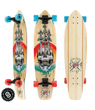 "34"" Sector 9 Danger Ft. Point Longboard Complete"
