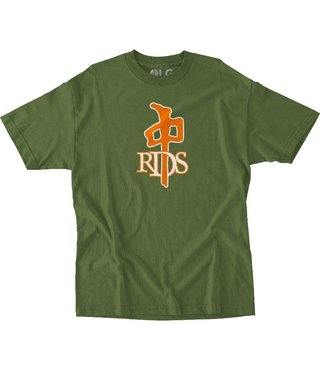 RDS T-Shirt OG - Army Green/Orange