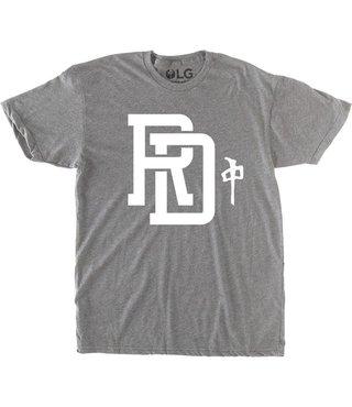 RDS Premium T-Shirt Monogram - Heather Grey