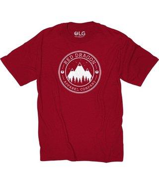 RDS T-Shirt Mountain Life - Cardinal