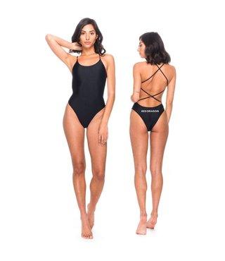 RDS Women's Swimsuit Logotype - Black
