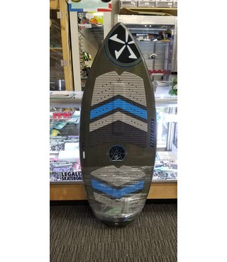 "57"" Phase Five Diamond Turbo Wake Skimboard - Blue Bottom"