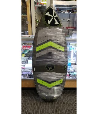 "54"" Phase Five Diamond Turbo Wake Skimboard - Green Bottom"