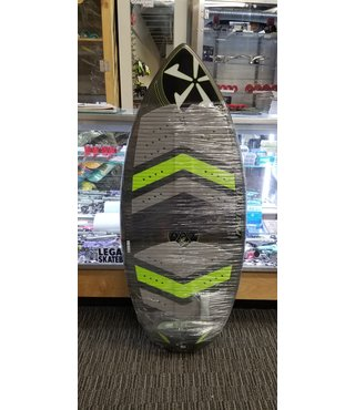 "48"" Phase Five Diamond Turbo Wake Skimboard - Green Bottom"