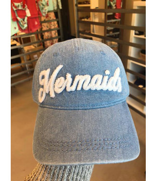 Girl's 7-14 Dear Believer Disney Mermaid Baseball Hat