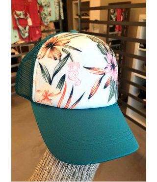 Girl's 7-14 Ocean Town Disney Baseball Hat