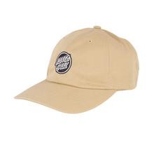Opus Dot Strapback Unstructured Low Mens Hat - Khaki