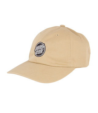 Opus Dot Strapback Unstructured Low Mens Hat - Khaki