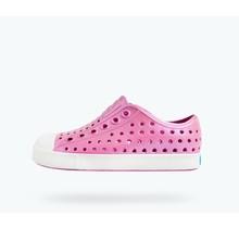 Native Jefferson Iridescent Child Shoes - Pink/White/Galaxy