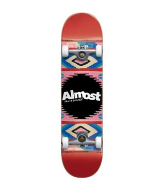 Almost Native American Red 7.5 Complete Skateboard